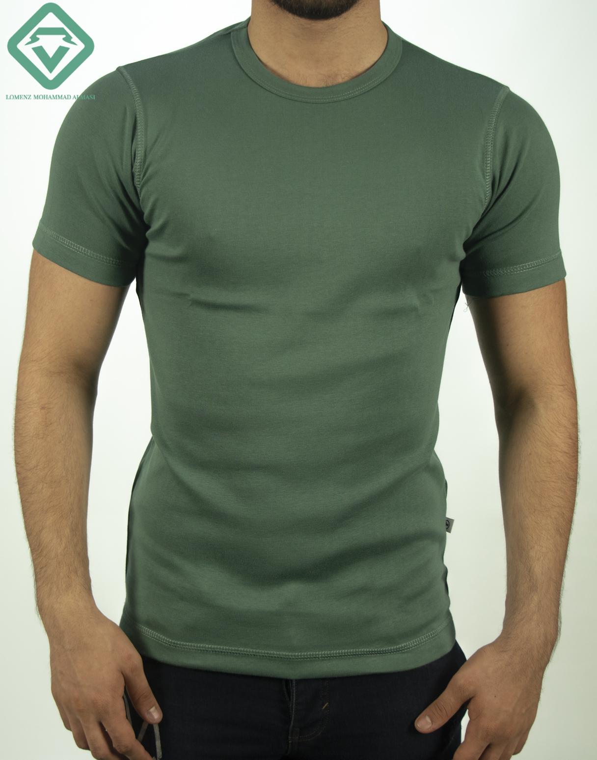 تیشرت تام تیلور رنگ سبز لجنی | فروشگاه لومنز