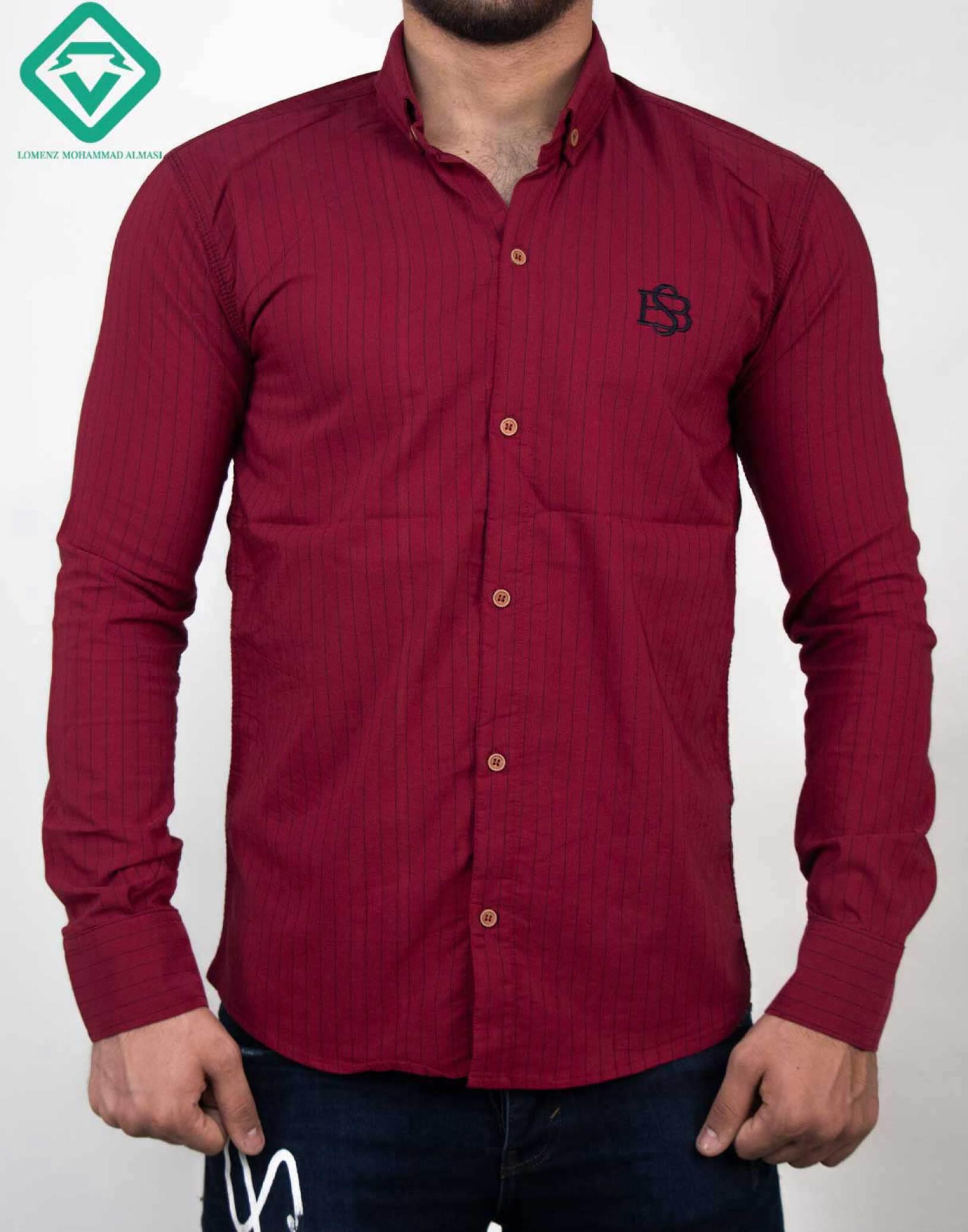 پیراهن آستین بلند اسپرت کد 011 تولید شده توسط سایت لومنز