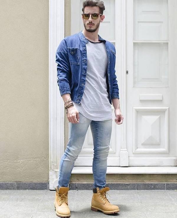 پوشیدن شلوار جین بهترین تیپ مردانه