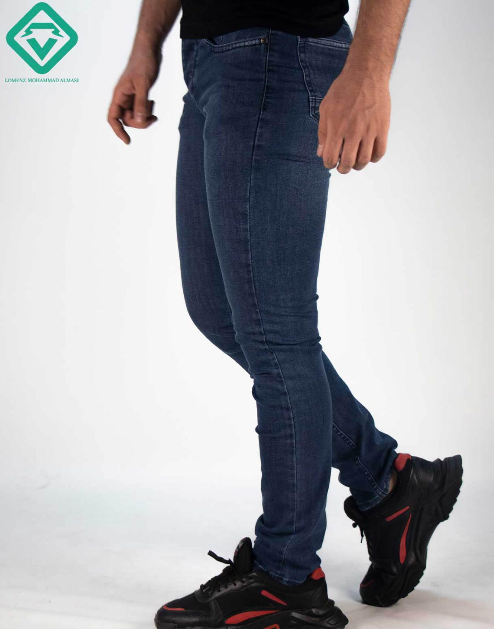 شلوار جین دم پا فیت کد shf8597 عرضه شده توسط سایت لومنز ارِائه جدید ترین متد روز دنیا