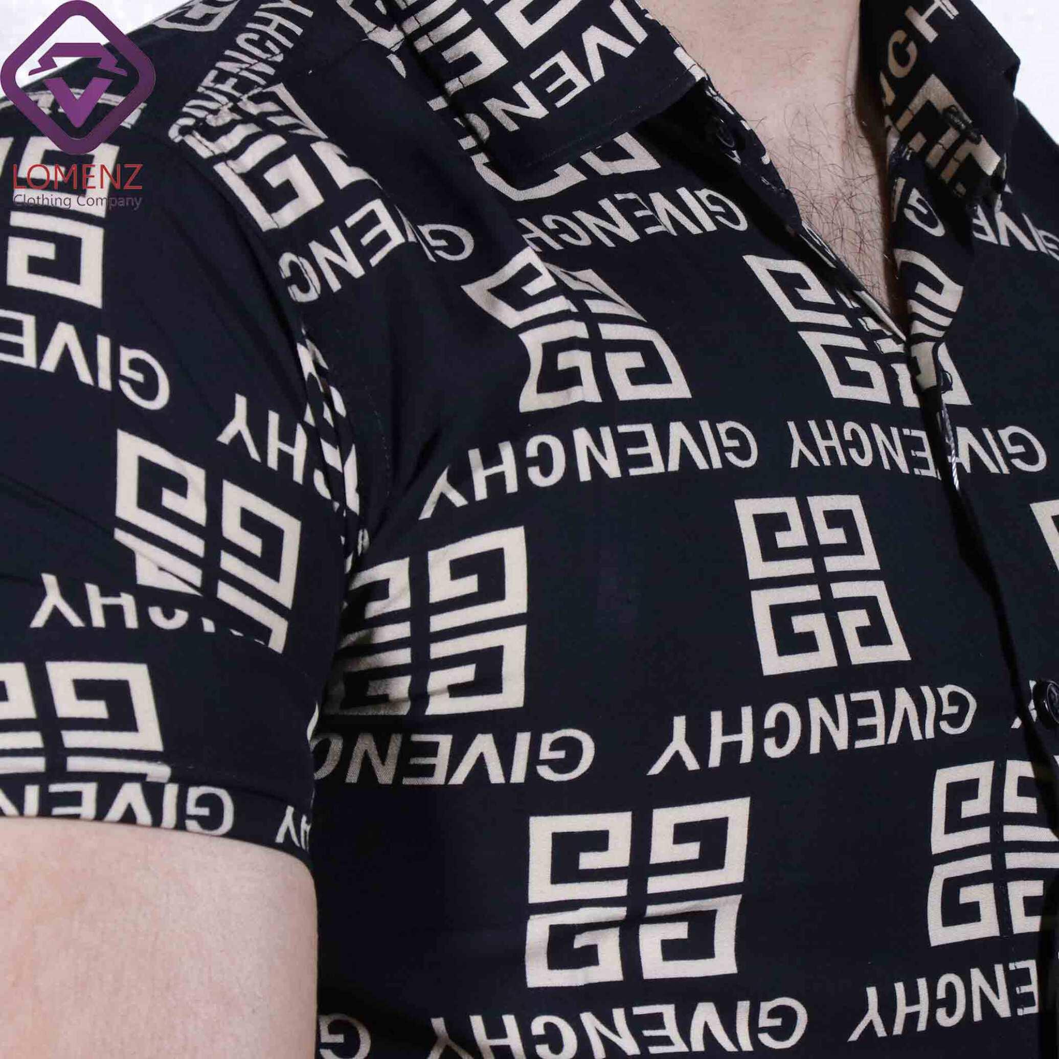 پیراهن آستین کوتاه هاوایی ZARA کد 010