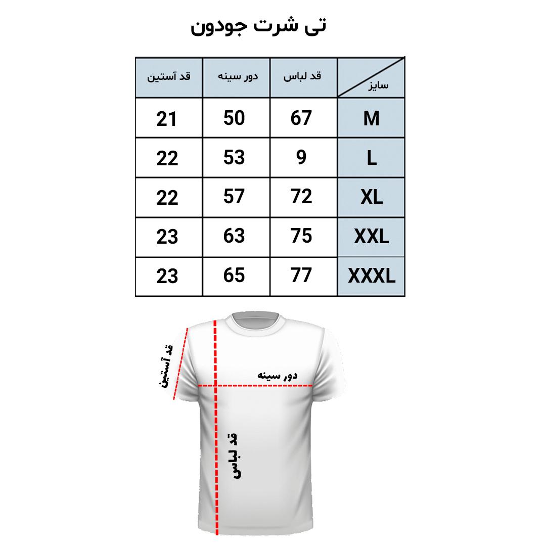 راهنمای سایز تیشرت تام تیلور از سایز S تا XXXL | فروشگاه لومنز