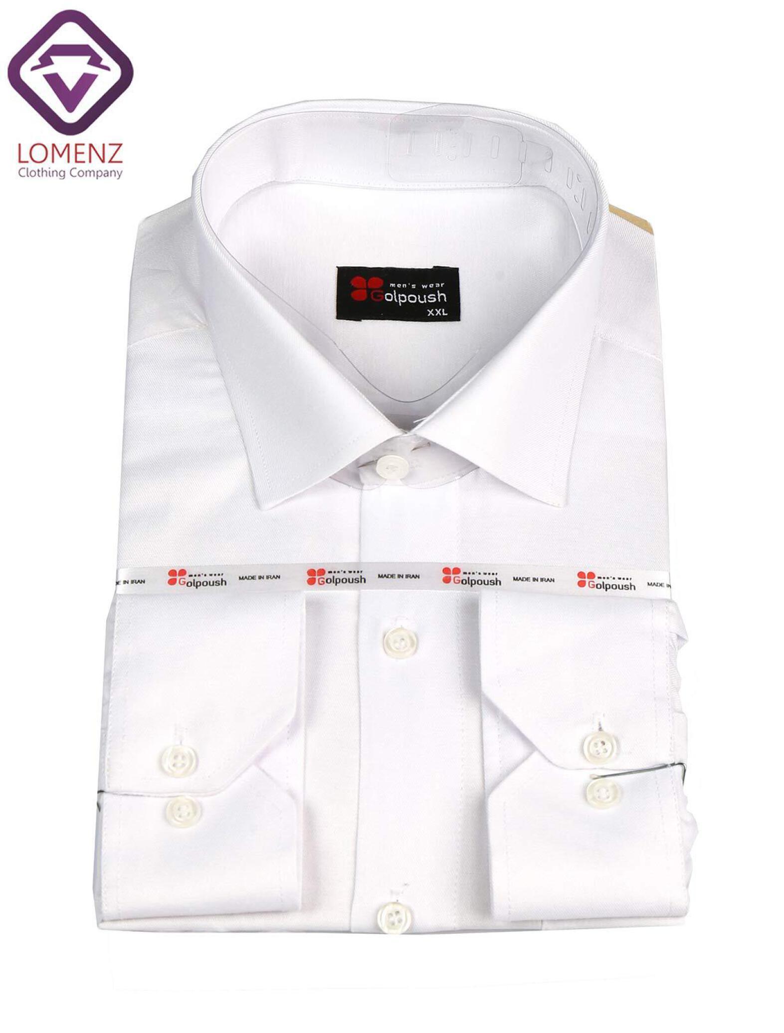 پیراهن جعبه ای فلورا تایلندی سفید
