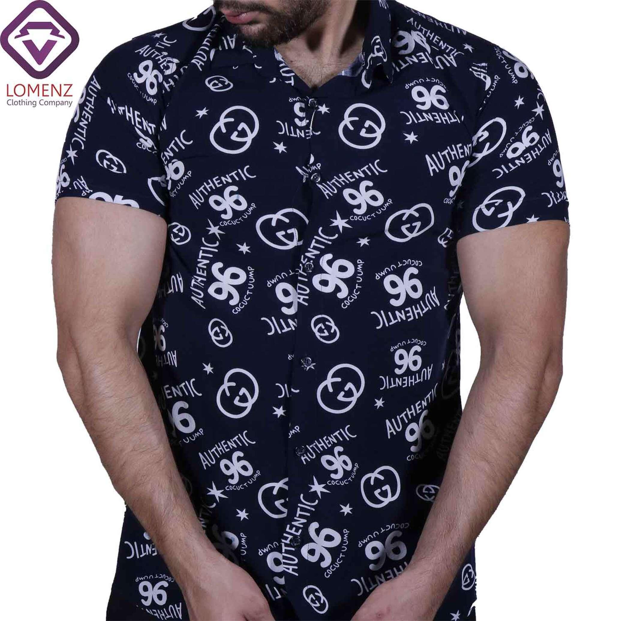 پیراهن آستین کوتاه هاوایی ZARA کد 006