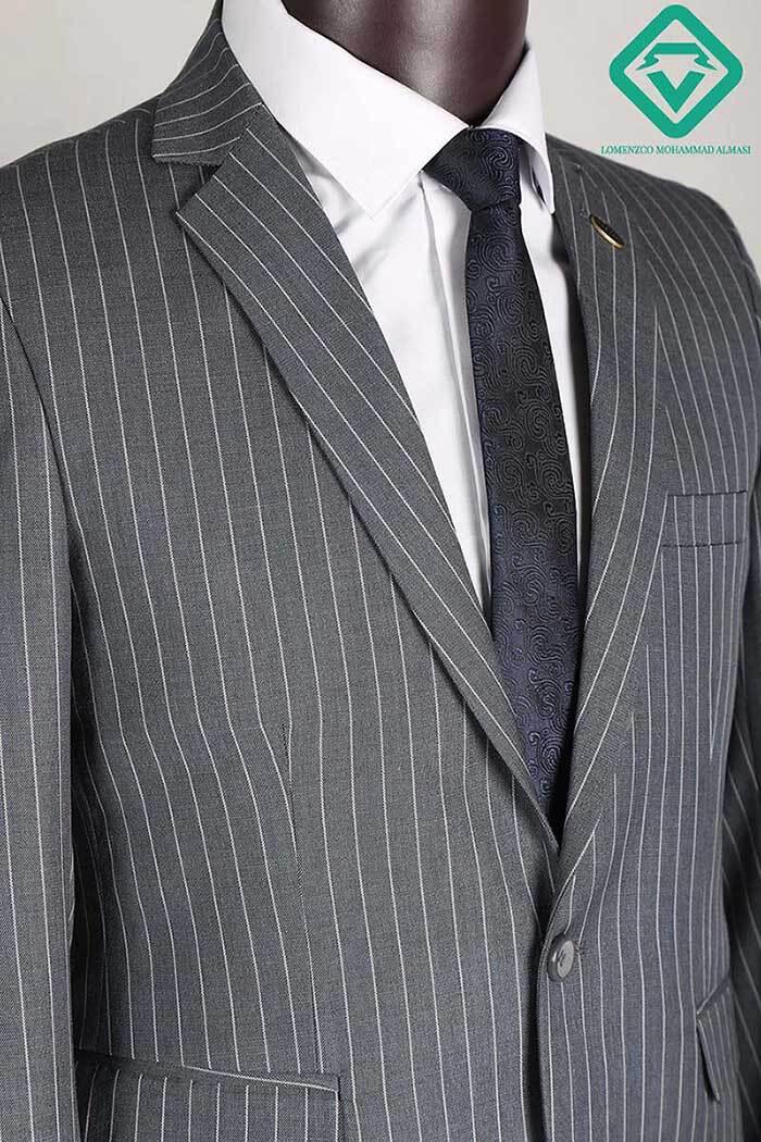 کت و شلوار دیپلمات گلدن تولید شده توسط سایت لومنز