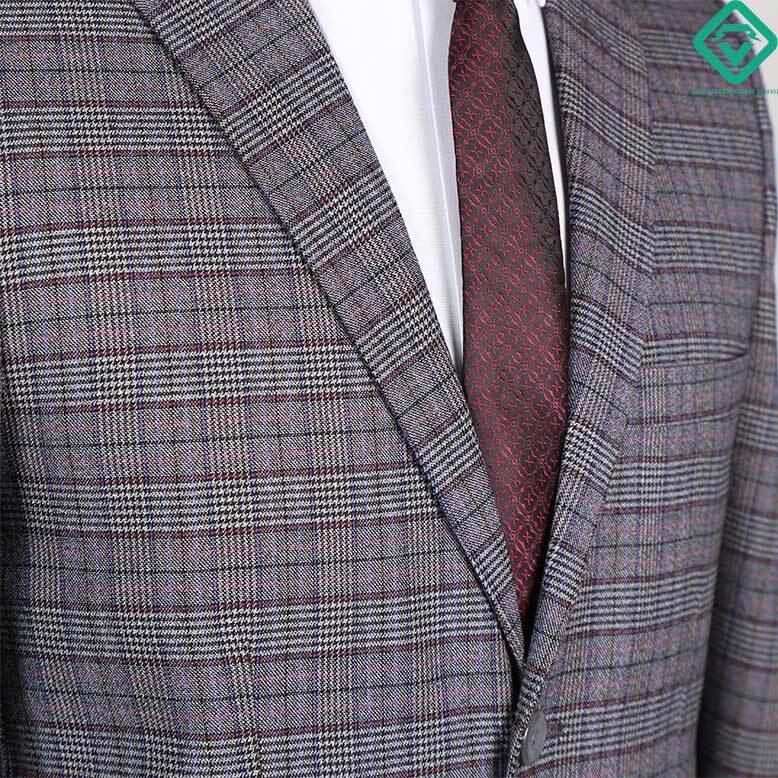 کت شلوار پیچازی طرح فاستونی کد 04 تولید شده توسط لومنز