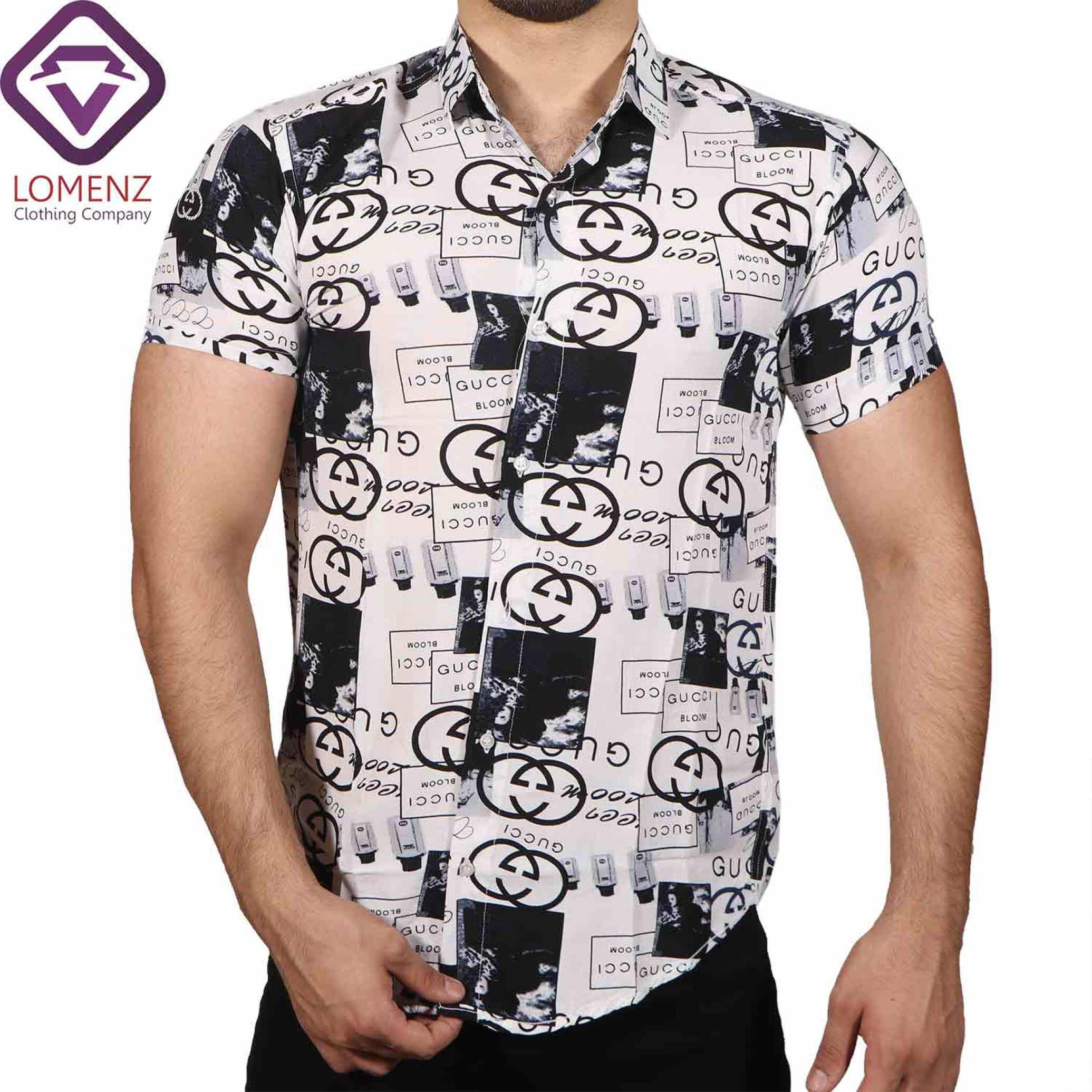 پیراهن آستین کوتاه هاوایی ZARA