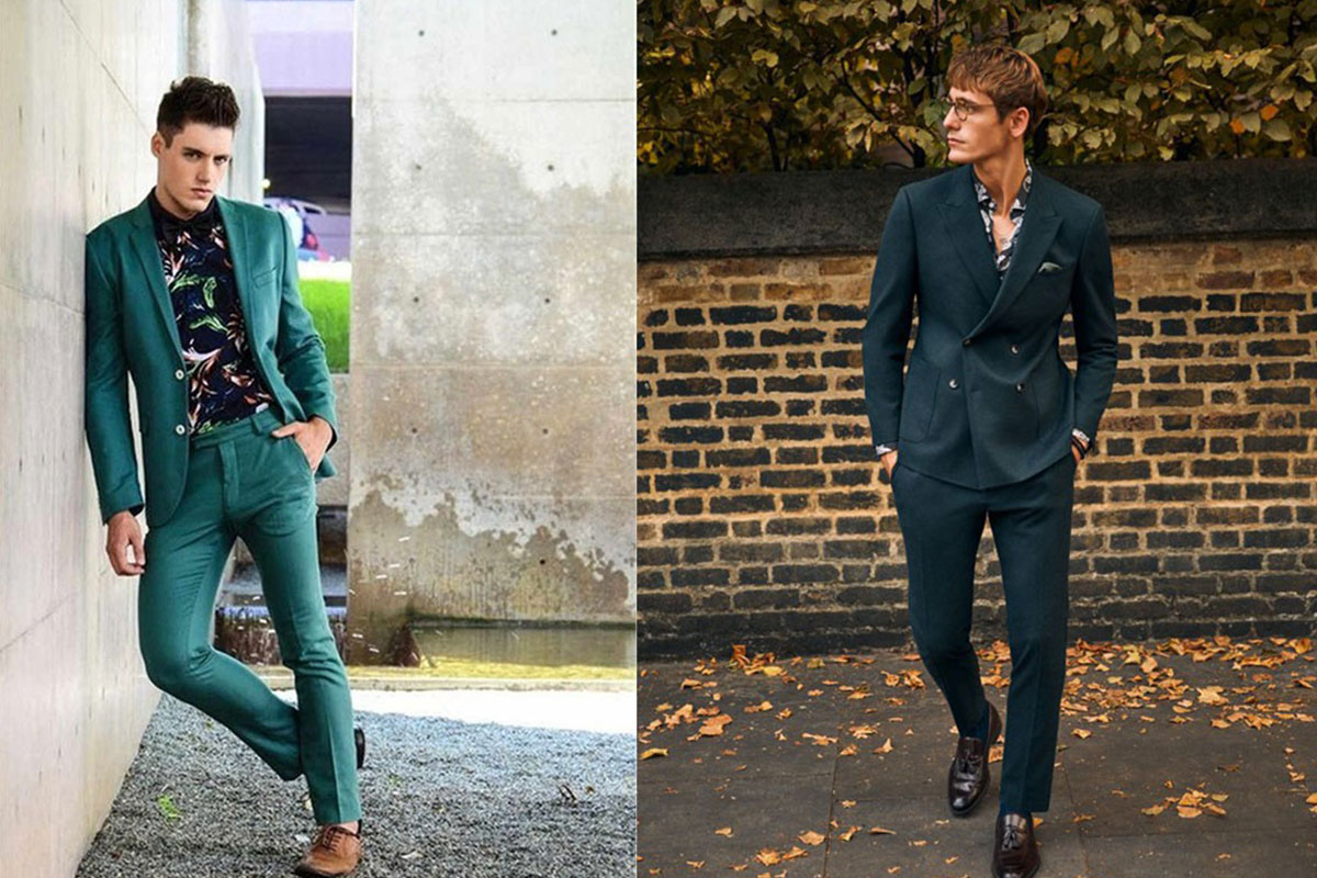 کت شلوارهایی با جنس پارچه ابریشم، خاص در استایل آقایان!