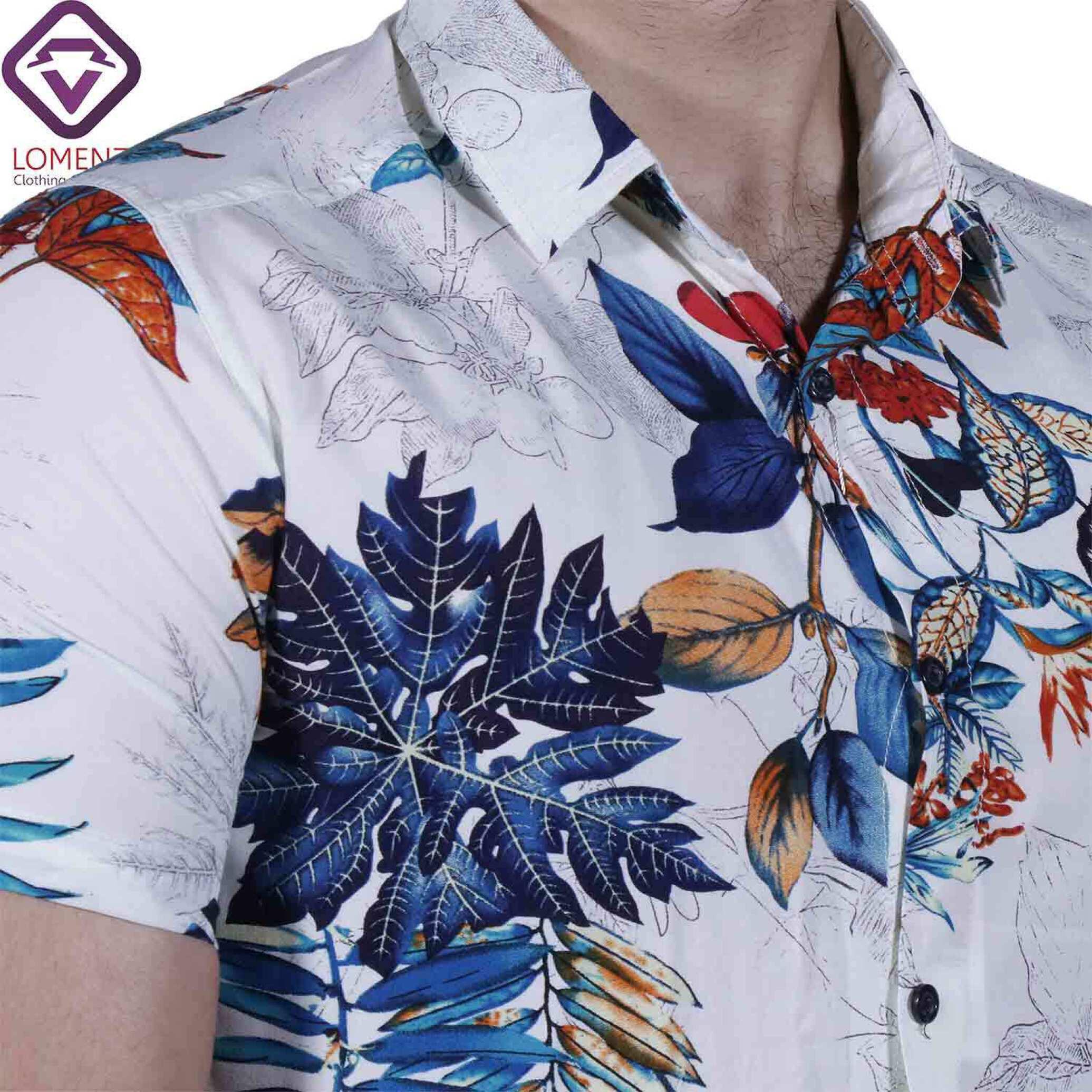 پیراهن آستین کوتاه هاوایی ZARA کد004