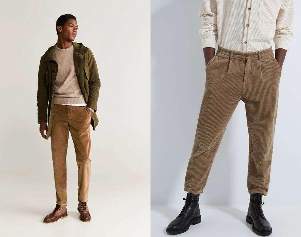 شلوار مخمل Corduroy pants