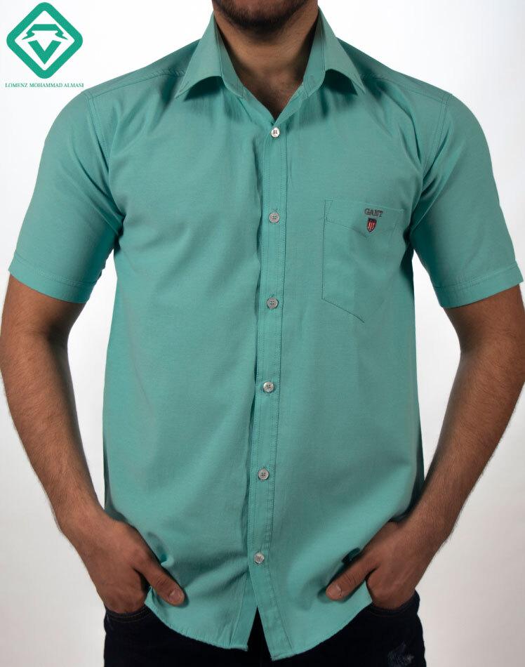 پیراهن آستین کوتاه رنگ یاسی لومنزو