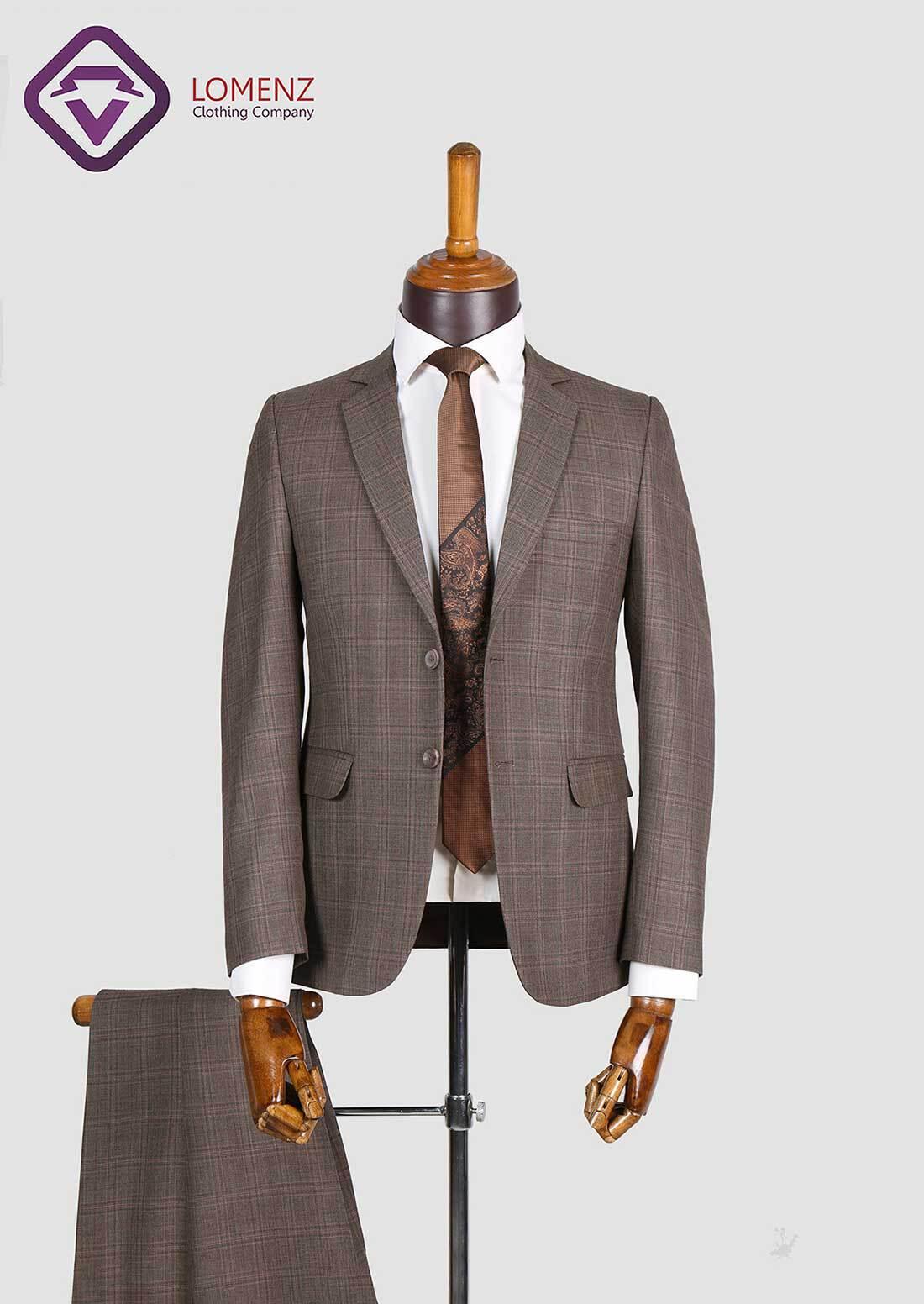 کت شلوار پیچازی مطهری تولید شده توسط لومنز