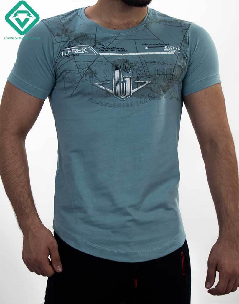 تی شرت نخ پنبه اورجینال عرضه شذه در فروشگاه لومنز