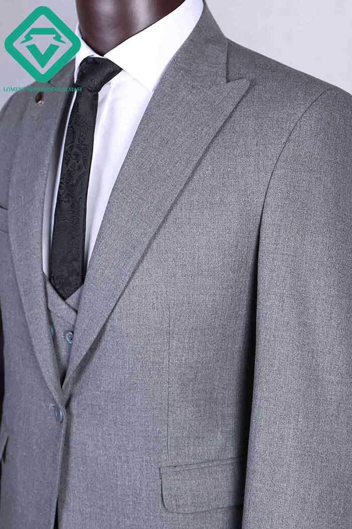 کت و شلوار نیوباندا ترک رنگ طوسی تولید شده توسط لومنز