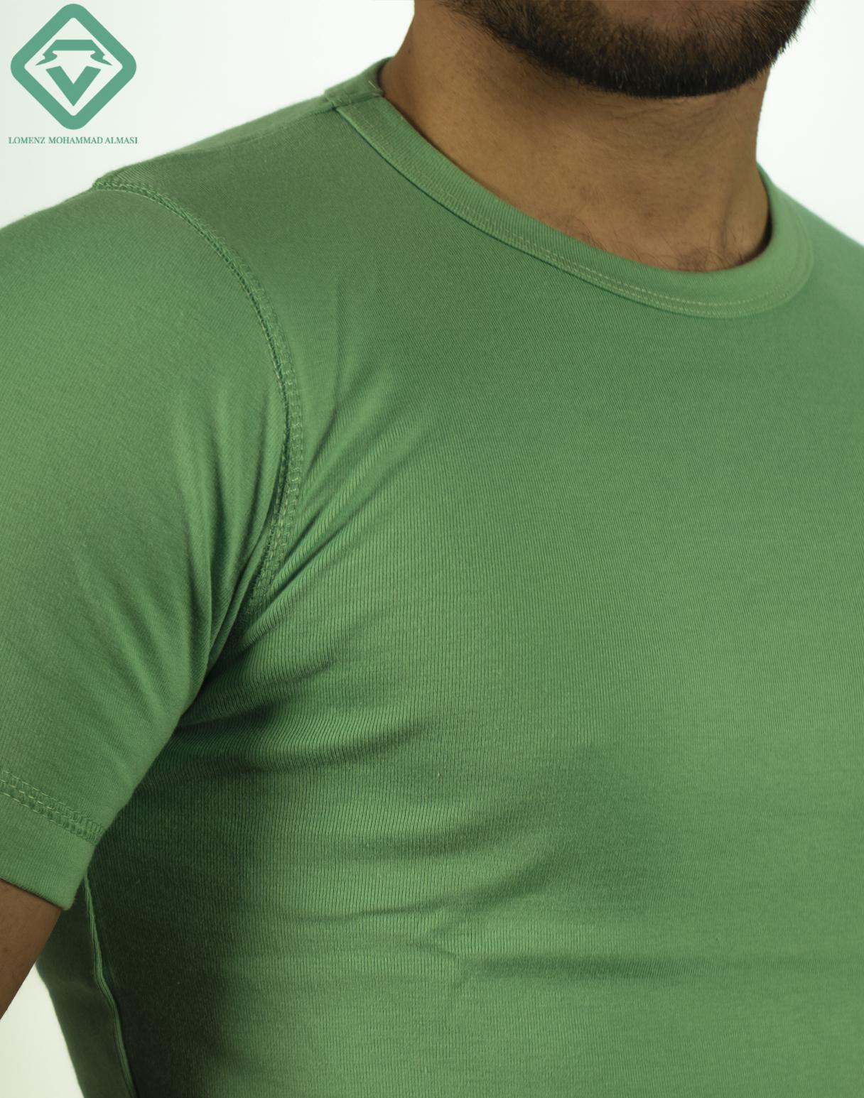تیشرت تام تیلور رنگ سبز نفتی | فروشگاه لومنز