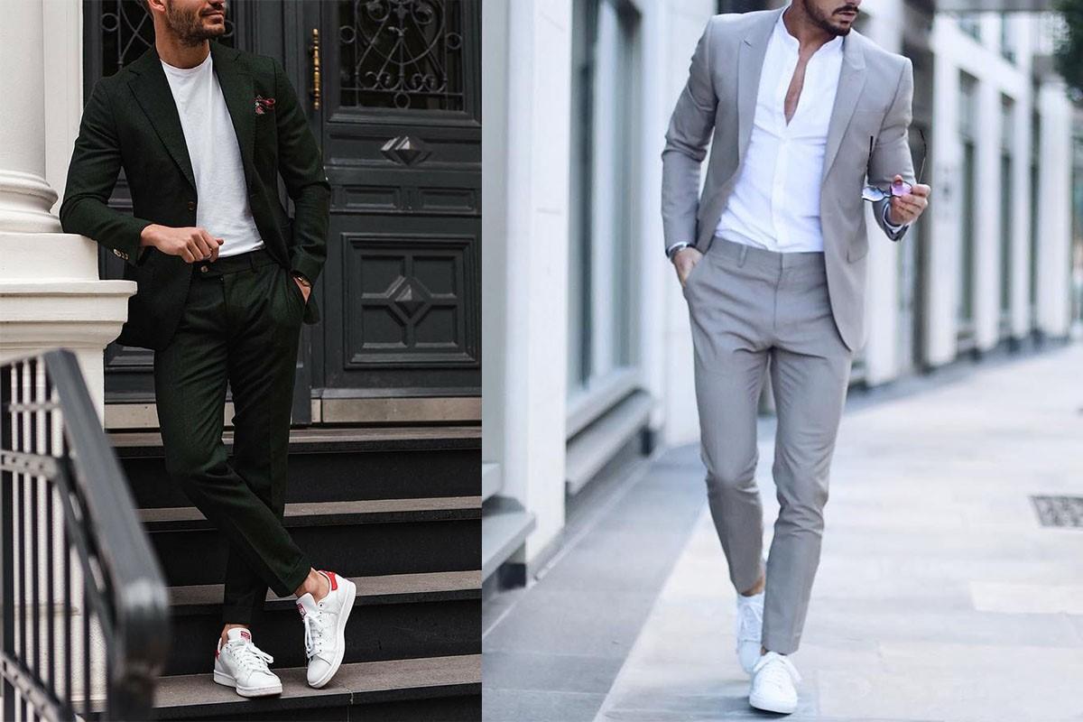 کتوشلوار را با کتانی بپوشیم یا با کفش رسمی؟